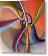 Abstract 0414111 Metal Print