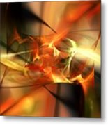 Abstract 060110a Metal Print