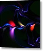 abstract 060910A Metal Print