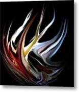 Abstract 07-26-09-c Metal Print