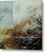 Abstract 070408 Metal Print by Pol Ledent