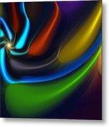 Abstract 080510 Metal Print