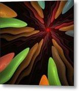 Abstract 080610 Metal Print
