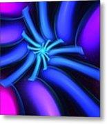 Abstract 080610b Metal Print