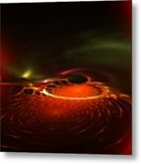Abstract 081410a Metal Print