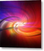 Abstract 0902 D Metal Print