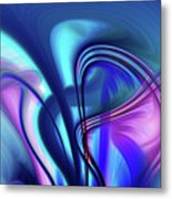 Abstract 0902 N Metal Print
