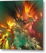 Abstract 090710a Metal Print