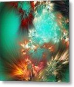 Abstract 090710b Metal Print