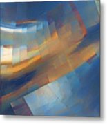 Abstract - 1 - Emp - Seattle Metal Print