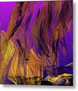 Abstract 10-16-09-3 Metal Print