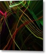 Abstract 10-16-09 Metal Print