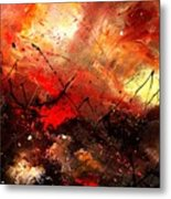 Abstract 100202 Metal Print