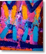 Abstract 10316 - Cropped Metal Print