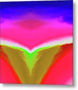 Abstract 104x By Nixo Metal Print
