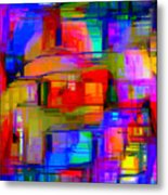 Abstract 1293 Metal Print
