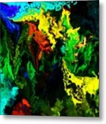 Abstract 2-23-09 Metal Print