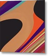 Abstract 2 Metal Print