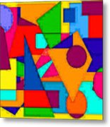 Abstract 3c Metal Print