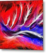 Abstract #45 Metal Print