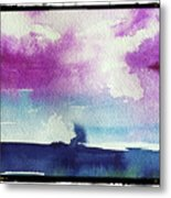 Purple Sky's  Metal Print