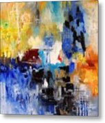 Abstract 69070 Metal Print