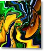 Abstract 7-10-09 Metal Print