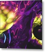 Abstract 7-25-09 Metal Print