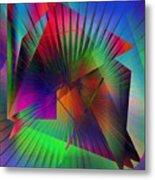 Abstract 7690 Metal Print