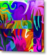 Abstract 7d Metal Print