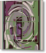 Abstract 8 Metal Print