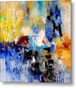 Abstract 900003 Metal Print