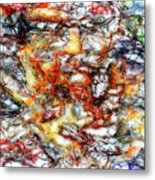 Abstract 9591 Metal Print