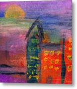 Abstract - Acrylic - Lost In The City Metal Print