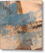Abstract At Sea 4 Metal Print