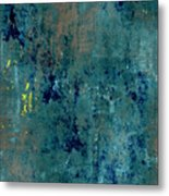 Abstract Back Cover Design  Metal Print