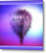 Abstract Balloon In Sky Metal Print