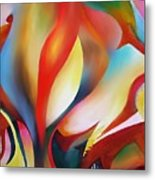 Abstract Beings Metal Print