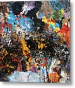 Abstract Blast Metal Print