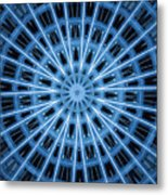 Abstract Blue 28 Metal Print