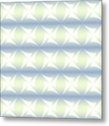 Abstract Blue And White Background Metal Print