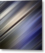 Abstract Blurred Blue And Gray Background Metal Print