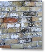 Abstract Brick 10 Metal Print