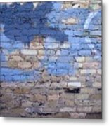 Abstract Brick 3 Metal Print