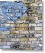 Abstract Brick 6 Metal Print