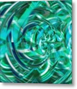 Abstract Brutality The Vortex Metal Print