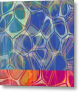 Cells 7 - Abstract Painting Metal Print