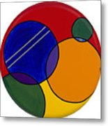 Abstract Circle 3 Metal Print