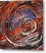 Abstract- Circle Metal Print