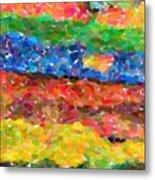 Abstract Color Combination Series - No 8 Metal Print